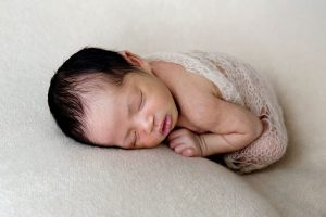 When is the best time for a newborn baby shoot with Vanilla Images