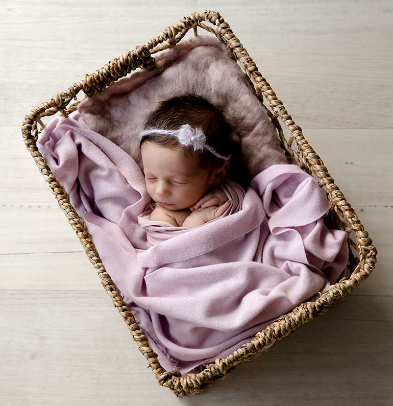 Purple baby styling - Newborn outfits for photoshoots
