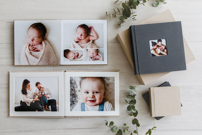 Albums - Heirloom Newborn Albums