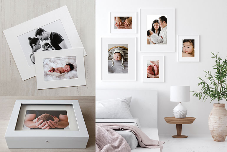 Matted Prints - Photographic Portrait Products