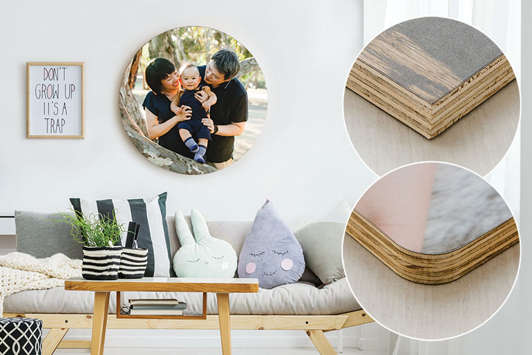 Wood Mount Prints - Wall Art and Portrait Products in Melbourne
